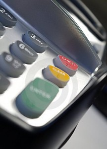 PDQ machine, contactless card payments